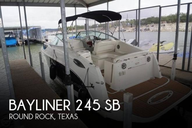 2009 Bayliner 245 SB - For Sale at Round Rock, TX 78664 - ID 155332