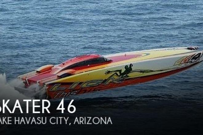 2002 Skater 46 Race Pleasure - For Sale at Lake Havasu City, AZ 86403 - ID 156326