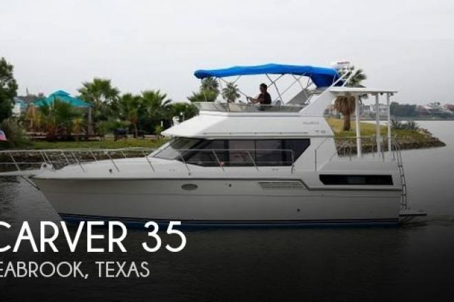 1993 Carver 370 Aft Cabin - For Sale at Seabrook, TX 77586 - ID 156386