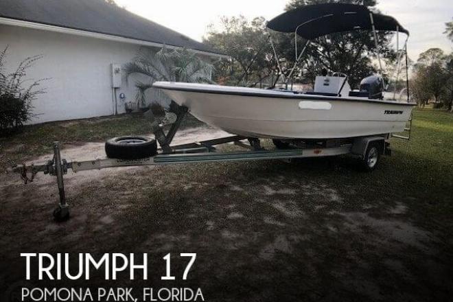 2011 Triumph 17 Skiff - For Sale at Pomona Park, FL 32181 - ID 155842