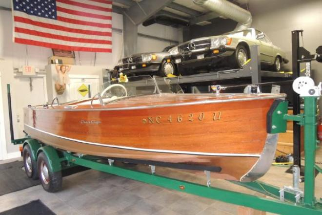 1949 Chris Craft Runabout Deluxe - For Sale at Grand Haven, MI 49417 - ID 156404