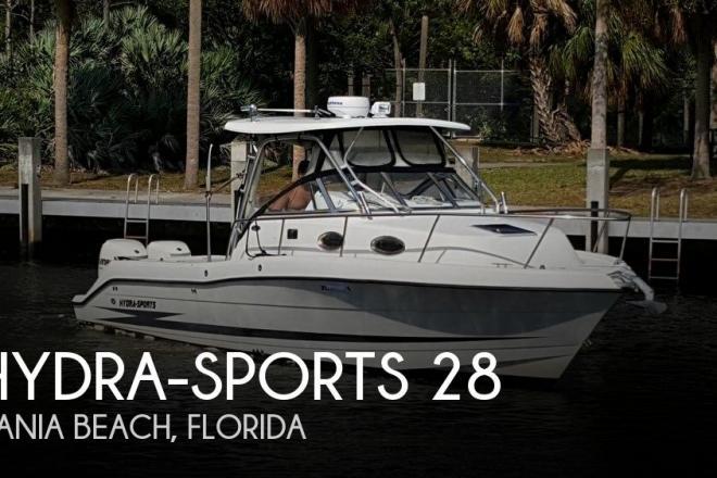 2001 Hydra Sports 2800 Vector WA - For Sale at Dania Beach, FL 33004 - ID 156379