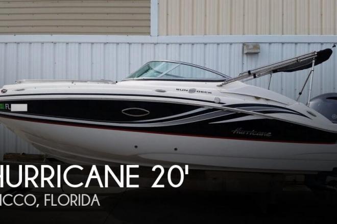 2015 Hurricane SunDeck 2000 - For Sale at Sebastian, FL 32976 - ID 156383