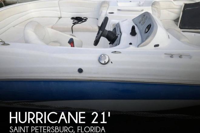 2013 Hurricane 203 Sun Deck Sport - For Sale at Saint Petersburg, FL 33706 - ID 156520