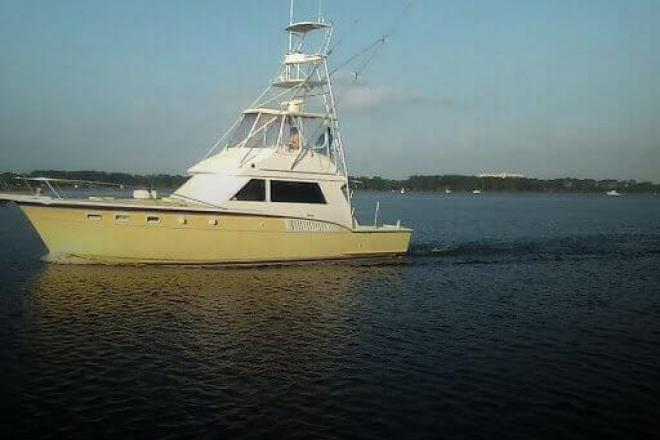 1987 Hatteras 45 C - For Sale at Panama City, FL 32408 - ID 156831