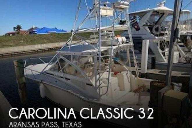 2006 Carolina Classic 32 - For Sale at Aransas Pass, TX 78335 - ID 156833