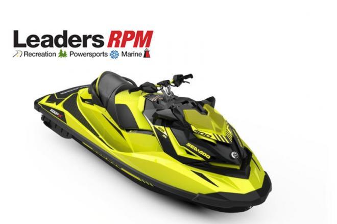 2018 Sea Doo RXP®-X® 300 Neon Yellow - For Sale at Kalamazoo, MI 49019 - ID 131814