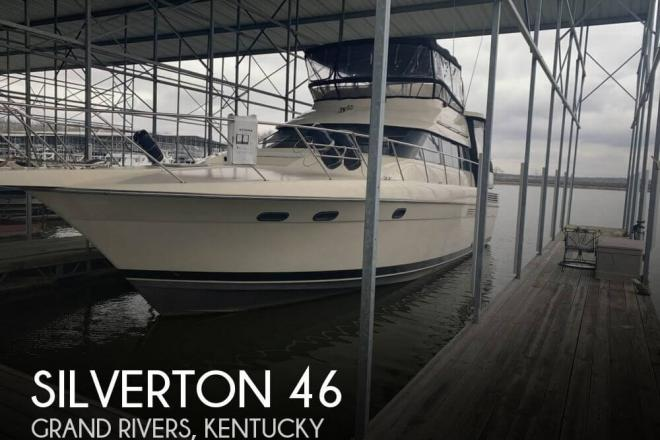1989 Silverton 46 Aft Cabin Motoryacht - For Sale at Gilbertsville, KY 42044 - ID 156602