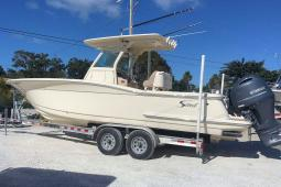 2016 Scout 275 LXF Center Console