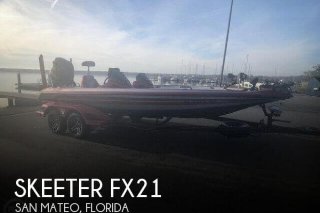 2018 Skeeter FX21 - For Sale at San Mateo, FL 32187 - ID 156731