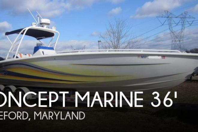 2004 Concept 36 Center Console - For Sale at Whiteford, MD 21160 - ID 131142
