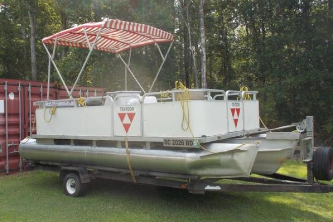 1995 Sylvan Tritoon - For Sale at Conway, SC 29527 - ID 157111