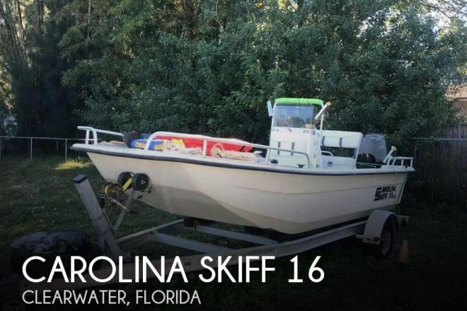 2008 Carolina Skiff 17DLX - For Sale at Clearwater, FL 33755 - ID 157125