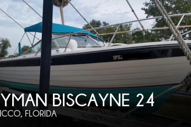 1975 Lyman Biscayne 24 - For Sale at Sebastian, FL 32976 - ID 156802