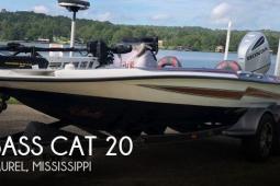 2018 Bass Cat 20