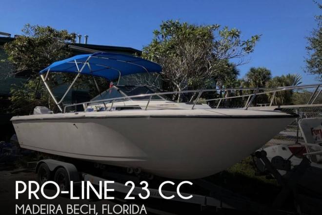 1988 Pro Line 23 CC - For Sale at Saint Petersburg, FL 33708 - ID 156482