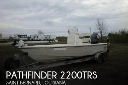 2013 Pathfinder 2200TRS