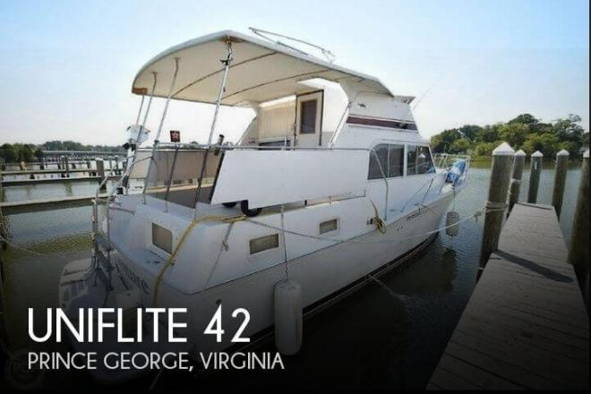 1984 Uniflite 42 - For Sale at Prince George, VA 23875 - ID 157259