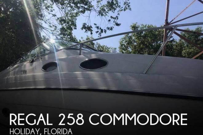 1996 Regal 258 commodore - For Sale at Holiday, FL 34691 - ID 141722