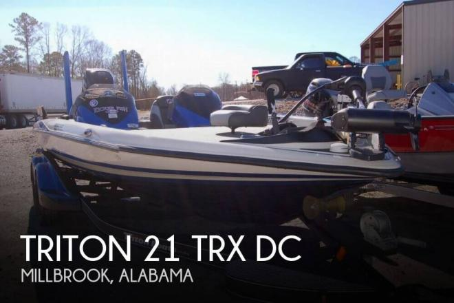 2015 Triton 21 TRX DC - For Sale at Millbrook, AL 36054 - ID 156753