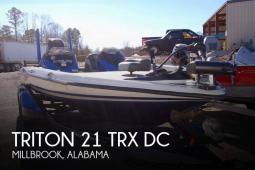 2015 Triton 21 TRX DC