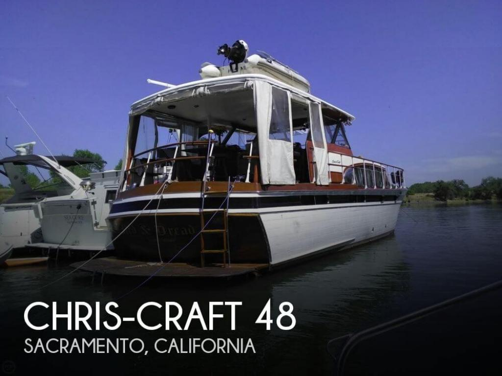 For Sale: 1958 Chris Craft Constellation Bull Nose 48 - $124,900 at  Sacramento, CA