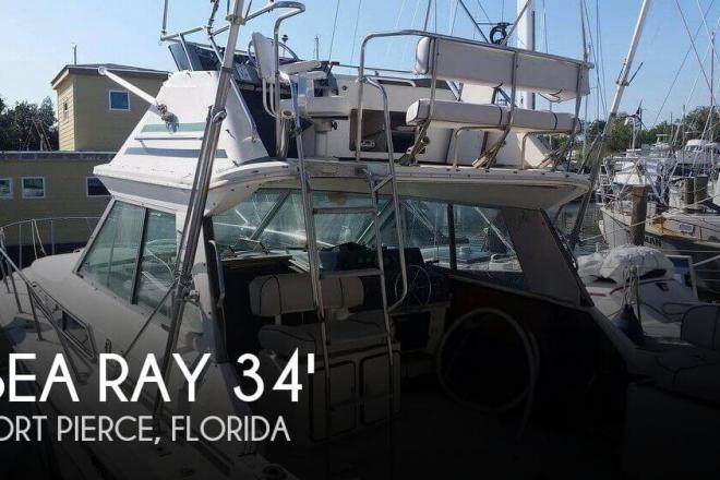 1986 Sea Ray 340 Sport Fish - For Sale at Fort Pierce, FL 34946 - ID 156866
