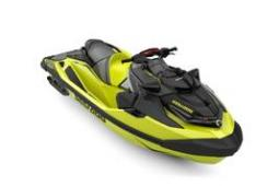 2019 Sea Doo RXT®-X® 300 IBR & Sound System Neon Yellow and Lava Grey