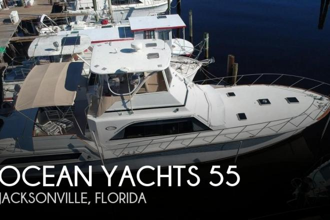 1984 Ocean Yachts 55 Sunliner - For Sale at Jacksonville, FL 32201 - ID 157638