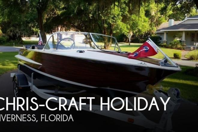 1963 Chris Craft Holiday - For Sale at Inverness, FL 34450 - ID 157126