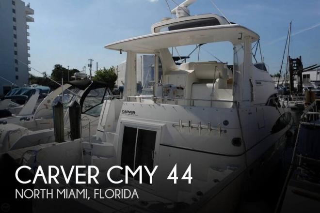 2001 Carver 444 Cockpit MY - For Sale at Miami, FL 33181 - ID 157676