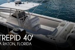 2012 Intrepid 400 Center Console