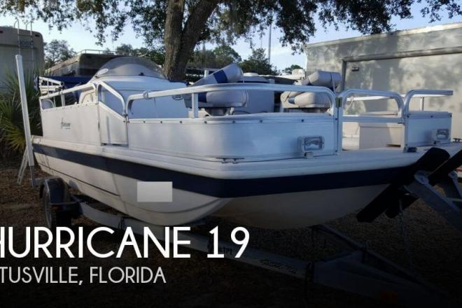 2006 Hurricane Fun Deck 196 - For Sale at Titusville, FL 32781 - ID 157253