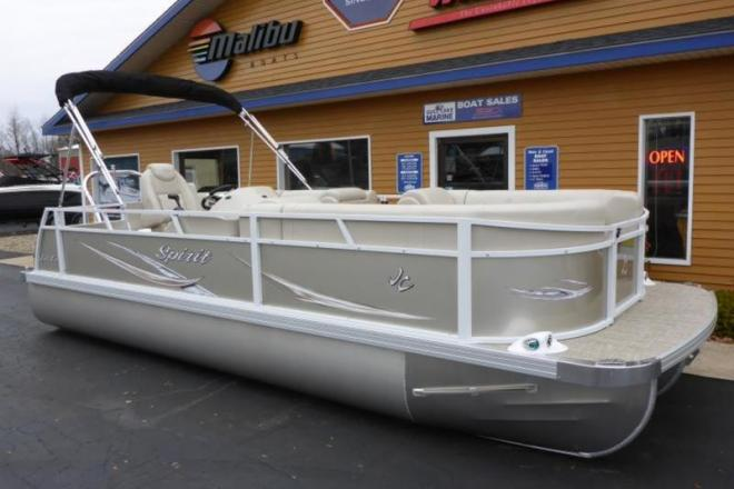 2018 JC Tritoon Spirit 221 Sport - For Sale at Richland, MI 49083 - ID 157978