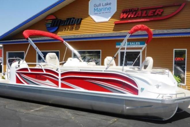 2018 JC Tritoon SportToon 26 CS TT - For Sale at Coopersville, MI 49404 - ID 158030