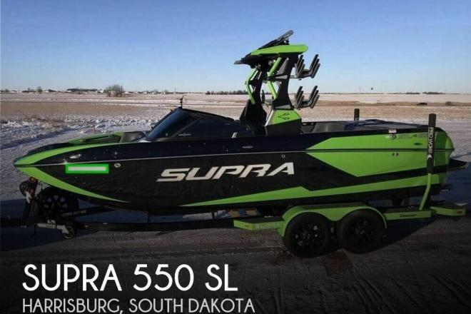 2018 Supra 550 SL - For Sale at Harrisburg, SD 57032 - ID 157738