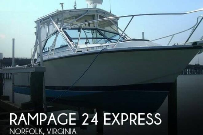 1986 Rampage 24 Express - For Sale at Norfolk, VA 23501 - ID 133147