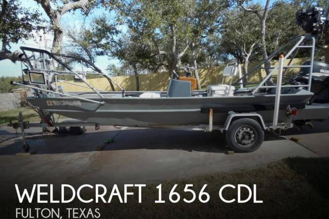 1997 Weldcraft 1656 CDL - For Sale at Fulton, TX 78358 - ID 157625