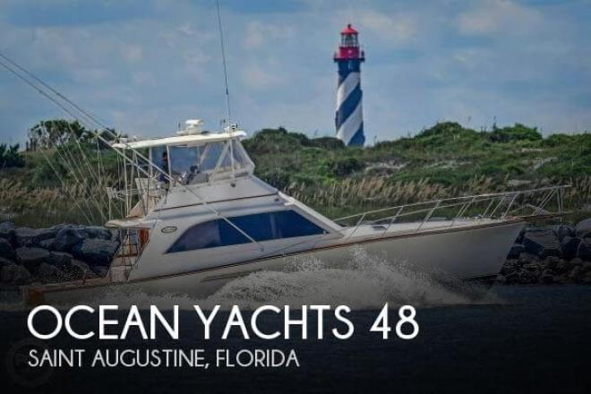 1989 Ocean Yachts 48 Super Sport - For Sale at Saint Augustine, FL 32080 - ID 158587