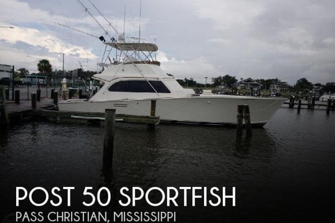 1986 Post 50 SportFish - For Sale at Pass Christian, MS 39571 - ID 158894