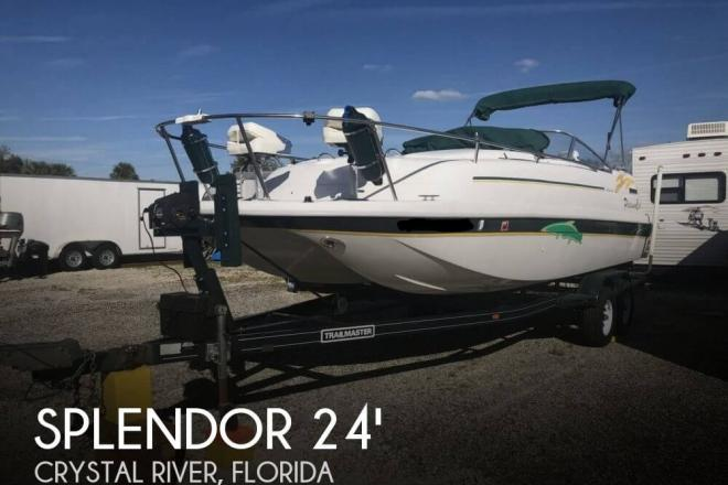 1997 Splendor 240 cuddy cabin - For Sale at Farmersburg, IN 47850 - ID 157205