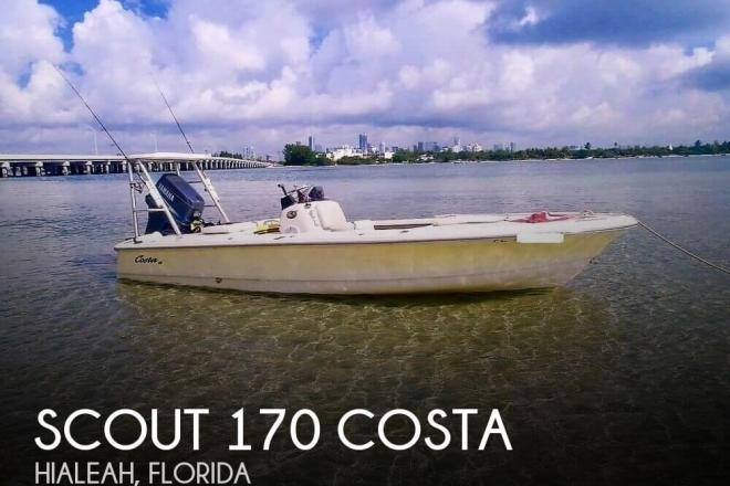 2004 Scout 170 Costa - For Sale at Hialeah, FL 33014 - ID 156443