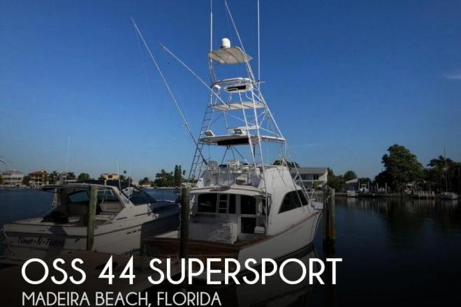 1987 Ocean Super Sport 44 Supersport - For Sale at Saint Petersburg, FL 33708 - ID 156190