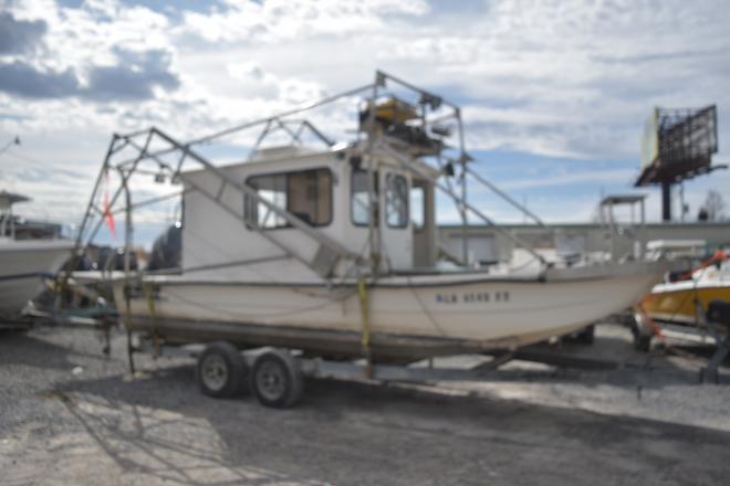 2007 Carolina Skiff 24 Cabin shrimp Skiff - For Sale at Marrero, LA 70072 - ID 159306