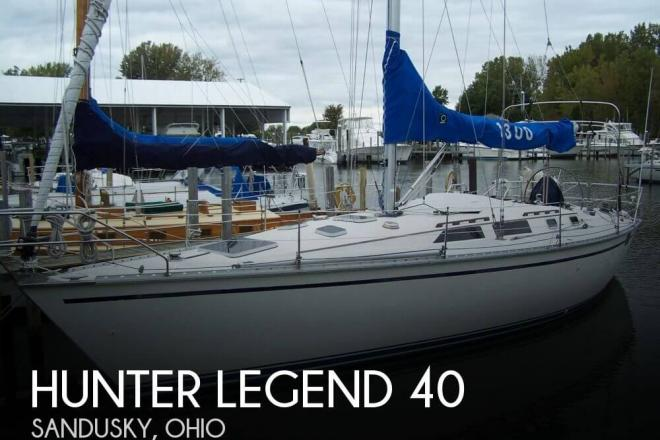 1989 Hunter Legend 40 - For Sale at Sandusky, OH 44870 - ID 158542