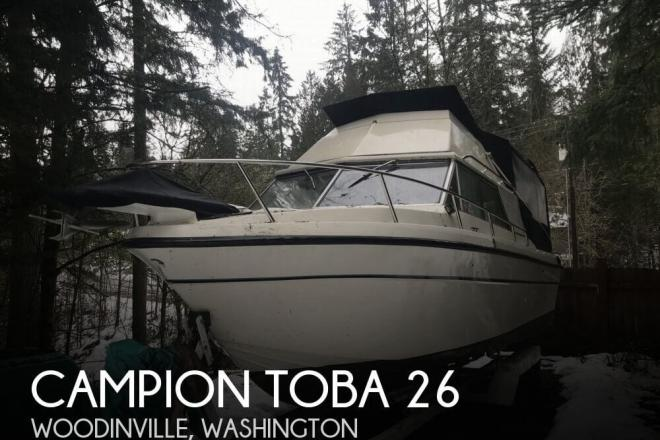 1978 Campion Toba 26 - For Sale at Woodinville, WA 98077 - ID 159202