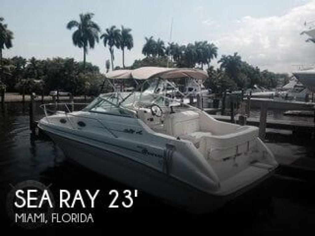 For Sale 1999 Sea Ray 240 Sundancer 12 300 At Miami Fl