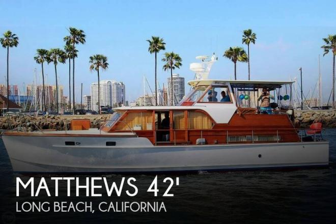 1960 Matthews 42 Yachtmaster - For Sale at Long Beach, CA 90801 - ID 156761