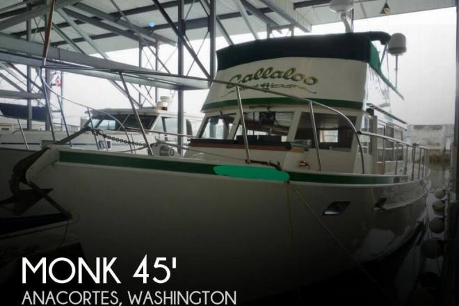 1964 Monk 45 McQueen Trawler - For Sale at Anacortes, WA 98221 - ID 142607