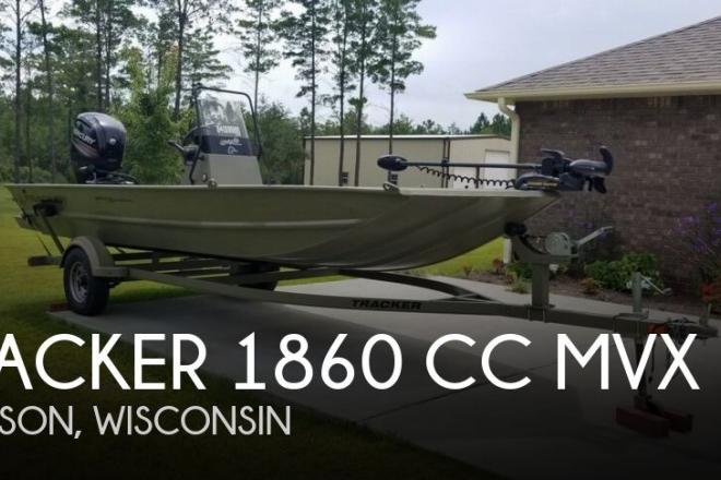 2016 Tracker 1860 CC MVX - For Sale at Madison, WI 53704 - ID 148534